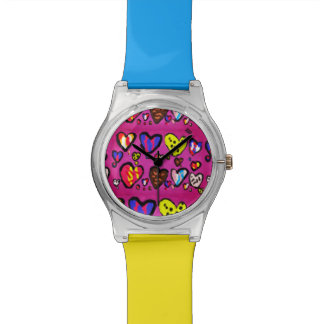 ice cream heart wrist watch