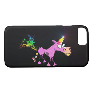 Ice Cream Horn - Donkey Corn iPhone 8/7 Case