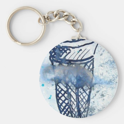 ice cream in the Clouds Key Chain