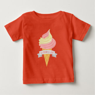 Ice cream is love unisex baby t-shirt