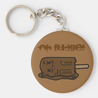 Ice Cream Key Chain Oh Fudge!