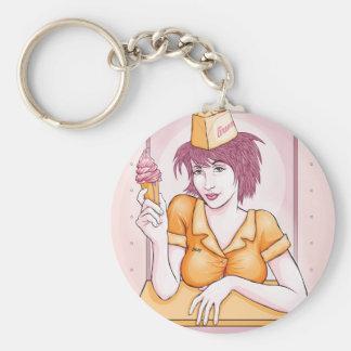 Ice Cream Keychain