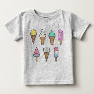 Ice-cream kids top - choose your own color!