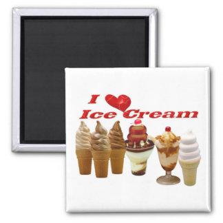Ice Cream Refrigerator Magnets