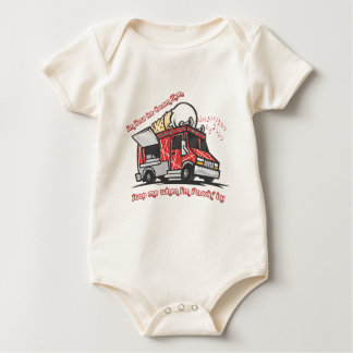 Ice Cream Man Baby Bodysuit