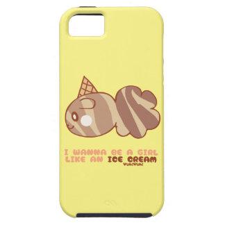 Ice-cream market icecream market by YuhiYuhi Tough iPhone 5 Case
