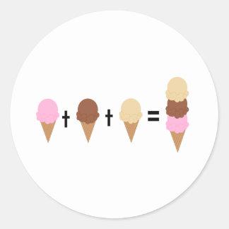 Ice Cream Math Stickers