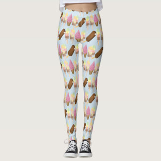 Ice Cream Melting Leggings