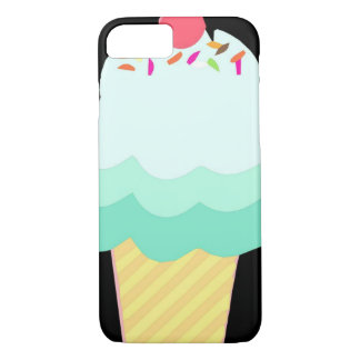 Ice Cream Mint iPhone Case