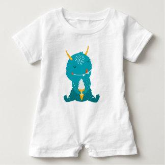 Ice Cream Monster Cutie Romper Baby Bodysuit