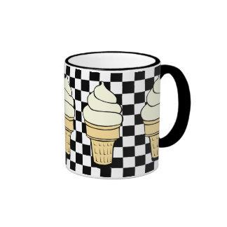 Ice Cream Ringer Mug
