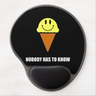 Ice Cream Nobody Has To Know Gel Mouse Pad