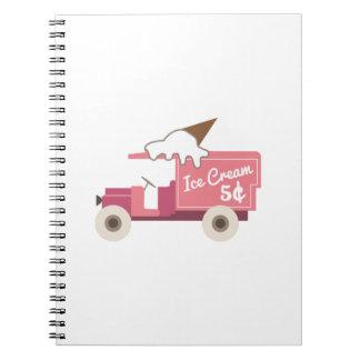 Ice Cream Note Book