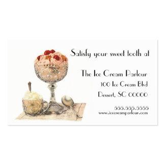 Ice Cream or Dessert Shop Business Card