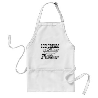 Ice Cream Parlor Adult Apron