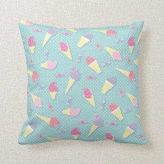 Ice Cream Pattern Cushion