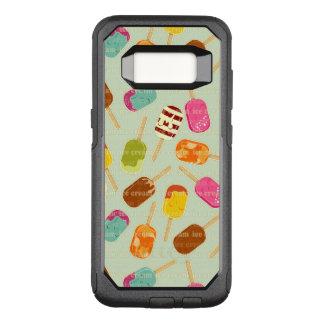 Ice Cream Pattern OtterBox Commuter Samsung Galaxy S8 Case