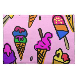 Ice Cream Placemat