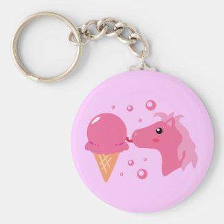 Ice Cream Pony Key Chains