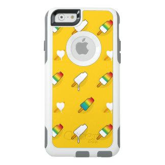 Ice cream pop art cool bright rainbow pattern OtterBox iPhone 6/6s case