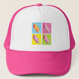 Ice Cream Pop Art Summer Hat