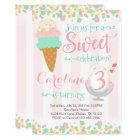 Ice Cream Popsicle Birthday Party Invitation
