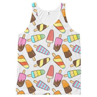 Ice Cream Popsicles tank top
