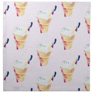 Ice Cream Queen Napkin