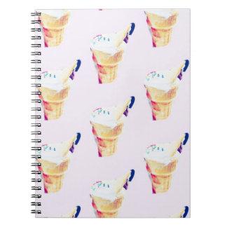 Ice Cream Queen Notebook