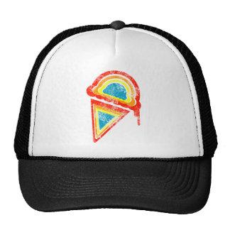 ice cream rainbow dripz hat