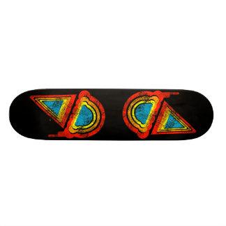 ice cream retro rainbowz 19.7 cm skateboard deck