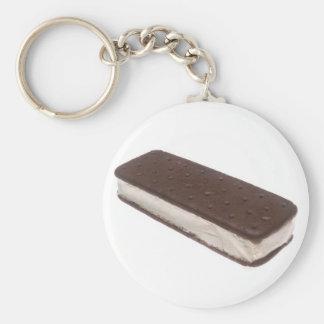 Ice Cream Sandwich Key Chain