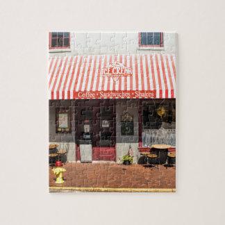 Ice Cream Shop Downtown Savannah Jigsaw Puzzle