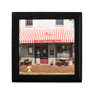 Ice Cream Shop Downtown Savannah Small Square Gift Box