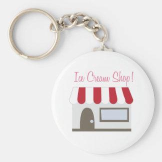 Ice Cream Shop Keychains