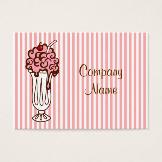 Ice Cream Soda Business Card