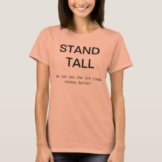 """Ice Cream Stand Tall"" Tee"