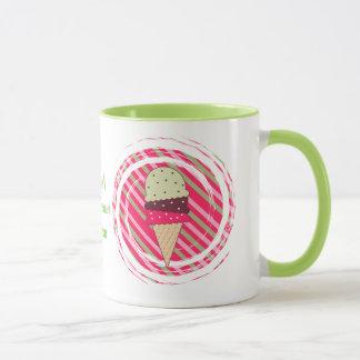 Ice Cream Strawberry Swirl Mug