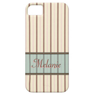 Ice Cream Stripes Name Template Case For The iPhone 5