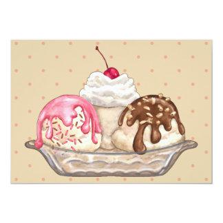 Ice Cream Sundae Card