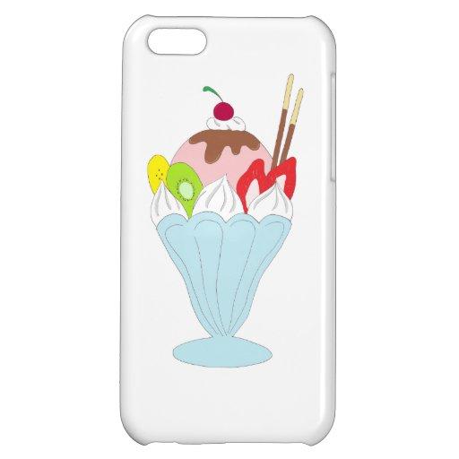 Ice Cream Sundae iPhone 5C Cover