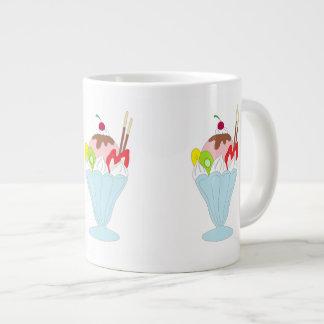 Ice Cream Sundae 20 Oz Large Ceramic Coffee Mug