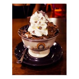 Ice Cream Sundae Postcard