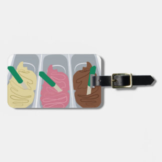 Ice Cream Tags For Luggage