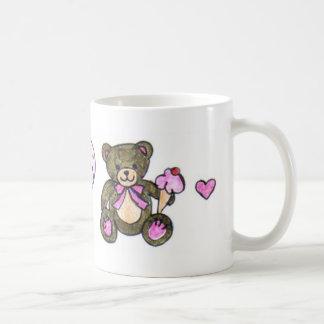 Ice Cream Teddy Coffee Mug