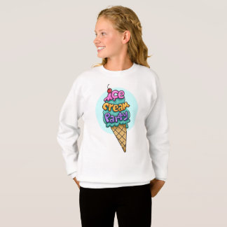 Ice Cream Theme Sweatshirt