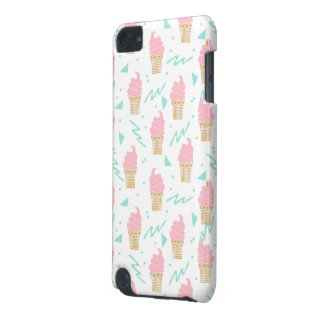 Ice Cream Triangle Pastel Pink / Andrea Lauren iPod Touch (5th Generation) Case