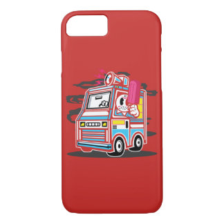Ice Cream Truck Glossy Phone Case