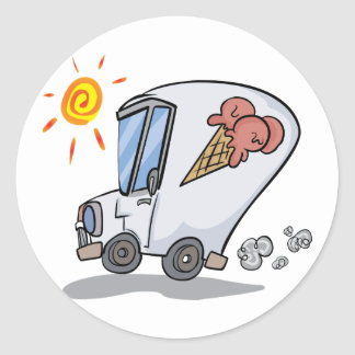 Ice Cream Truck Stickers