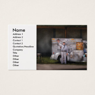 Ice Cream Truck - We sell Ice Cream Business Card